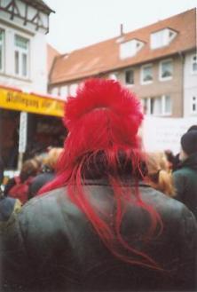 Roter Punk